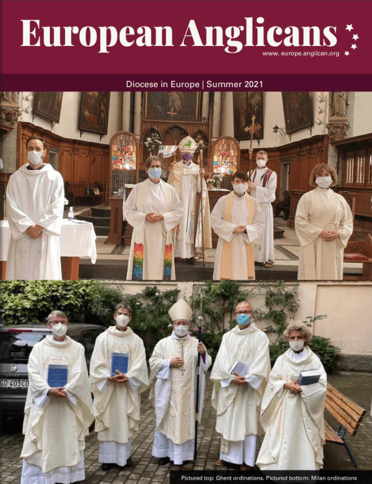 Cover of the Magazine 'The European Anglican'